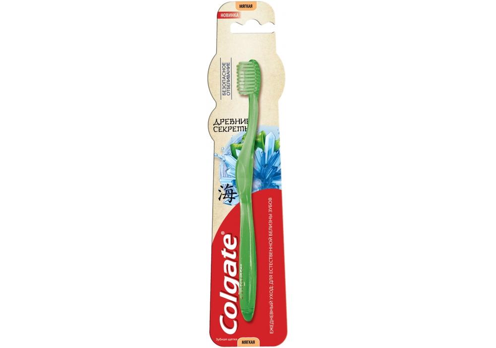 Купить Зубна щітка Colgate Стародавні секрети Безпечне відбілювання м`яка 38d8e894c0531