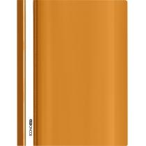 Папка-швидкозшивач глянець А4 без перфорації  помаранчева