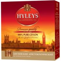 Чай чорний пакетований Hyleys Англійський Аристократичний 100шт х 2г