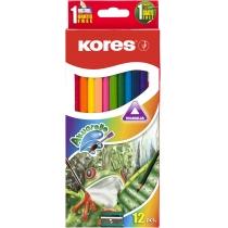 Олівці кольорові акварельні