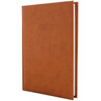 Щоденник датований 2020 ALGORA, коричневий, А5