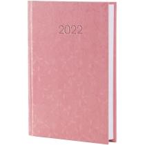 Щоденник датований 2020, КВІТИ, рожевий, А6,