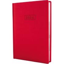 Щоденник датований 2020, VIVELLA , червоний, А5