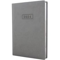 Щоденник датований, VIVELLA , сірий, А5