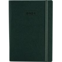 Щоденник датований 2020, CROSS , зелений, А5, м'яка обкладинка з гумкою