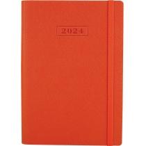 Щоденник датований 2020, CROSS , помаранчевий, А5, м'яка обкладинка з гумкою
