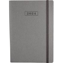 Щоденник датований 2020, CROSS , срібло, А5, м'яка обкладинка з гумкою