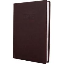Щоденник датований, NEBRASKA , темно-коричневий, А5, обкладинка без поролона