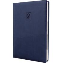 Щоденник датований 2020, VIVELLA LAK , синій, кремовий блок, А5