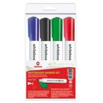 Набір маркерів для білих дошок Optima