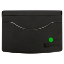 Подушка штемпельна настільна 70х110 мм, зелена