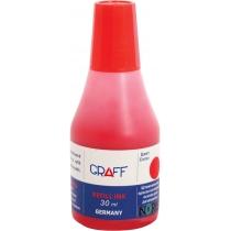 Фарба штемпельна 30-SK GRAFF, 30 мл., червоний