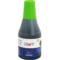 Фарба штемпельна 30-SK GRAFF, 30 мл., зелений