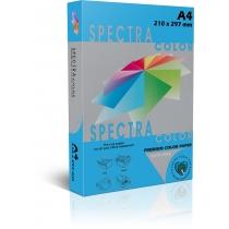 Папір кольоровий SINAR SPECTRA А4 160 г/м2, 250 арк.інтенс.синій