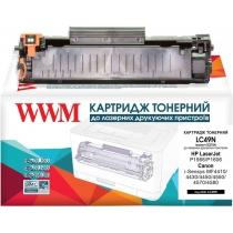 Картридж тонерний для HP LJ P1566/P1606/Canon 728