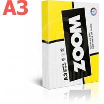 Папір офісний ZOOM A3 80 г/м2, 500 арк, клас C