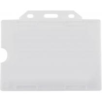Бейдж горизонтальний, 105х74 мм, PP+PVC