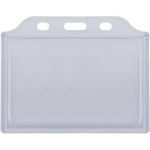 Бейдж горизонтальний, 85х54 мм, ABS+PVC