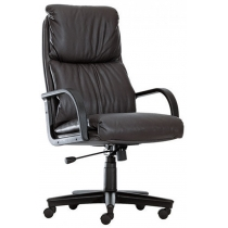 Крісло NADIR P ECO-30, Екокожа ECO, чорний, Пласт База, Пласт. Подлокот