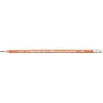 Олівець чорнографітний Optima натуральна деревина