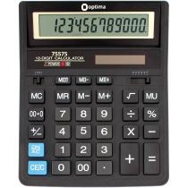 Калькулятор настільний бухгалтерський Optima O75575