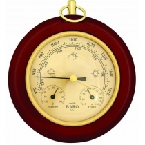 Метеостанція (барометр+термометр+гігрометр), діаметр 15см