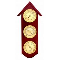 Метеостанція (барометр+термометр+гігрометр), 30см