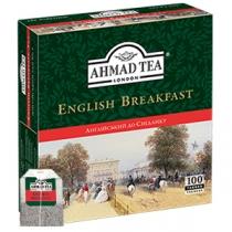 Чай чорний Ahmad Tea Англійський до сніданку 100 шт х 2г ч