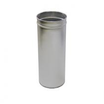 Урна нержавіюча сатинова d-23 см h-60 см 24 л