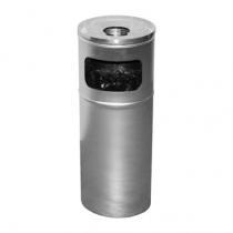 Попільниця нержавіюча сатинова d-24 см h-60 см 15 л