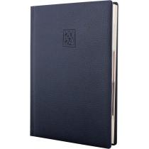Щоденник датований 2020, ARMONIA, темно-синій, кремовий блок, А5
