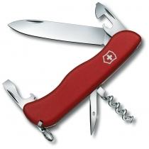 Ніж Victorinox Picknicker, 111мм, 11 функцій, червоний, нейлон