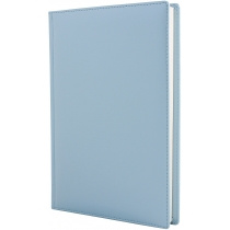 Щоденник недатований, А5, CAPRICE, блакитний, кремовий блок
