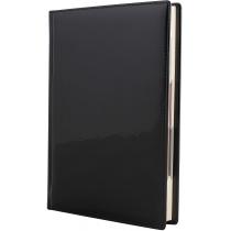 Щоденник напівдатований, А5, крем, VIVELLA LAK, чорний