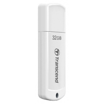Флеш-пам'ять 32Gb Transcend USB 2.0, білий