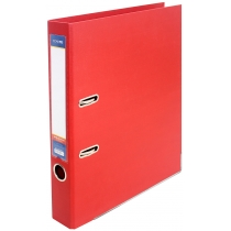 Папка-реєстратор LUX А4 5см червона (зібрана)