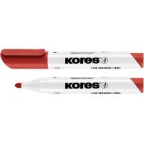 Маркер для білих дошок KORES 2-3 мм, червоний