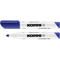 Маркер для білих дошок KORES 2-3 мм, синій