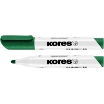 Маркер для білих дошок KORES 2-3 мм, зелений