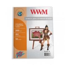 Фотопапір WWM A4, глянцевий