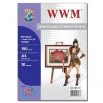 Фотопапір WWM A4, матовий
