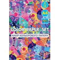 Набір кольорового паперу