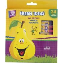 Крейда масляна Fresh Ideas, 24 кольори