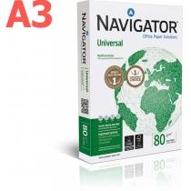 Папір офісний Навігатор А3 80 г/м2, 500 арк, клас А+
