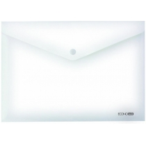Папка-конверт В5 на кнопці Economix, 180 мкм, фактура