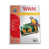 Фотопапір WWM 13х18см, глянцевий, 180 г/м2, 100 арк.