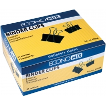 Біндери для паперу 51 мм Economix, 12 шт.