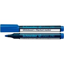 Маркер для дошок та фліпчартів SCHNEIDER MAXX 290 2-3 мм, синій