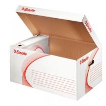 Архівний  контейнер Esselte Standard кришка відкривається вгору,  колір білий