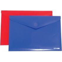 Папка-конверт А4 непрозора на липучці